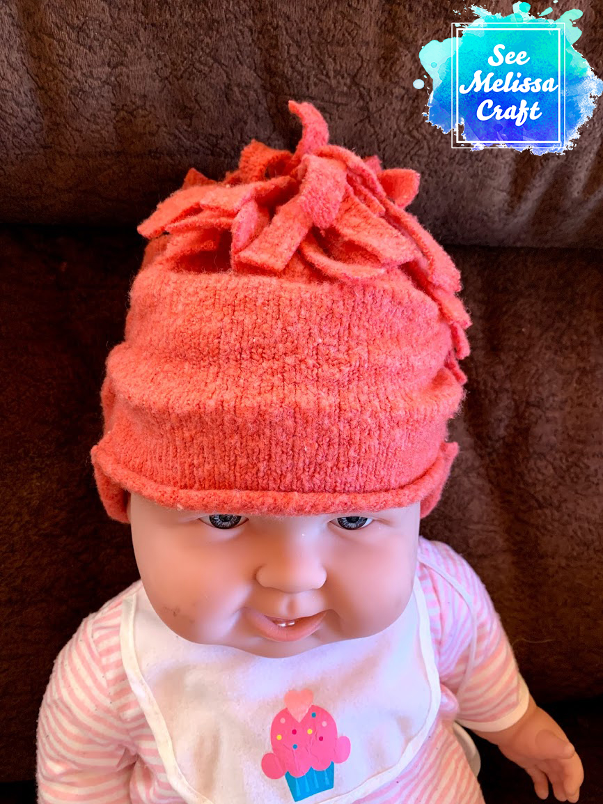 How to Upcycle a Sweater into a Child's Hat