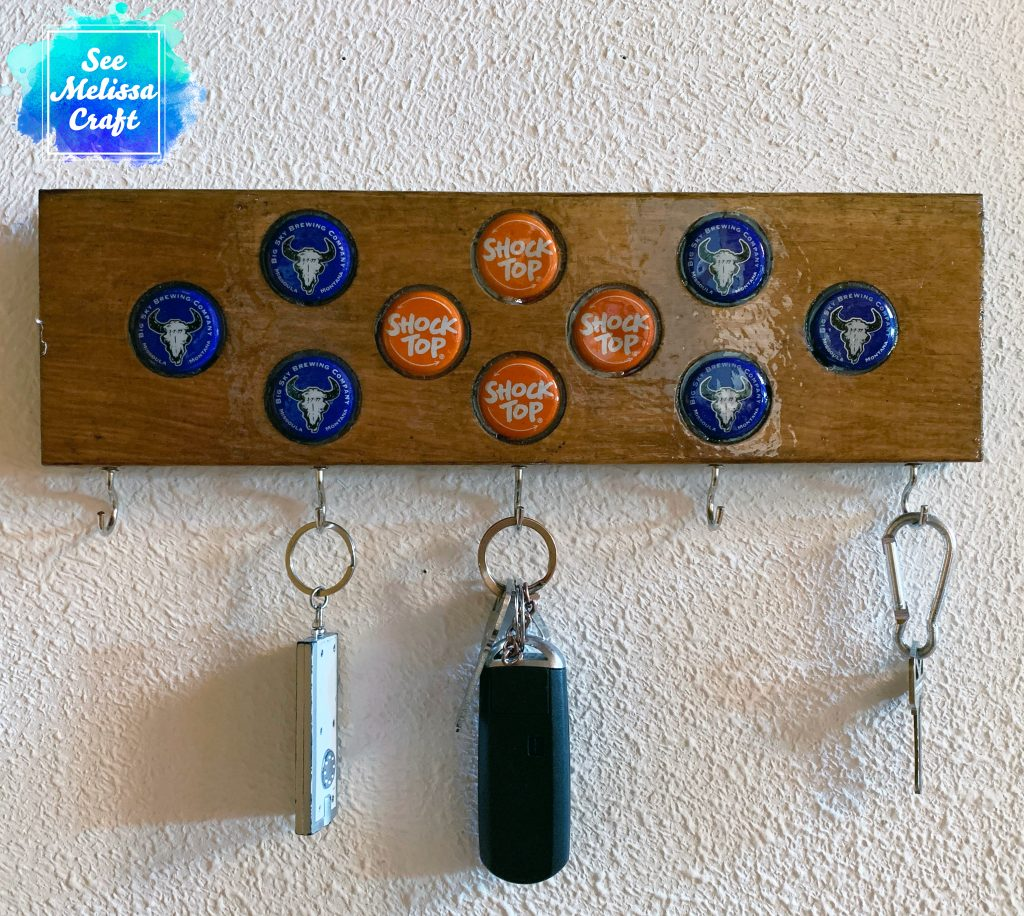 Blue & Orange DIY Keychain Hanger