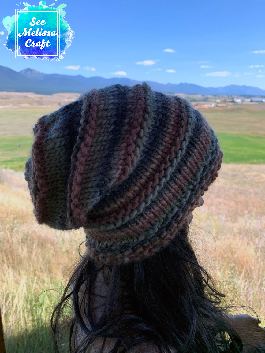 Ksanka Bulky Knit Hat Paid Pattern