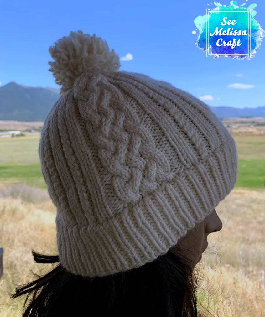 Sheridan Cable Knit Hat Pattern