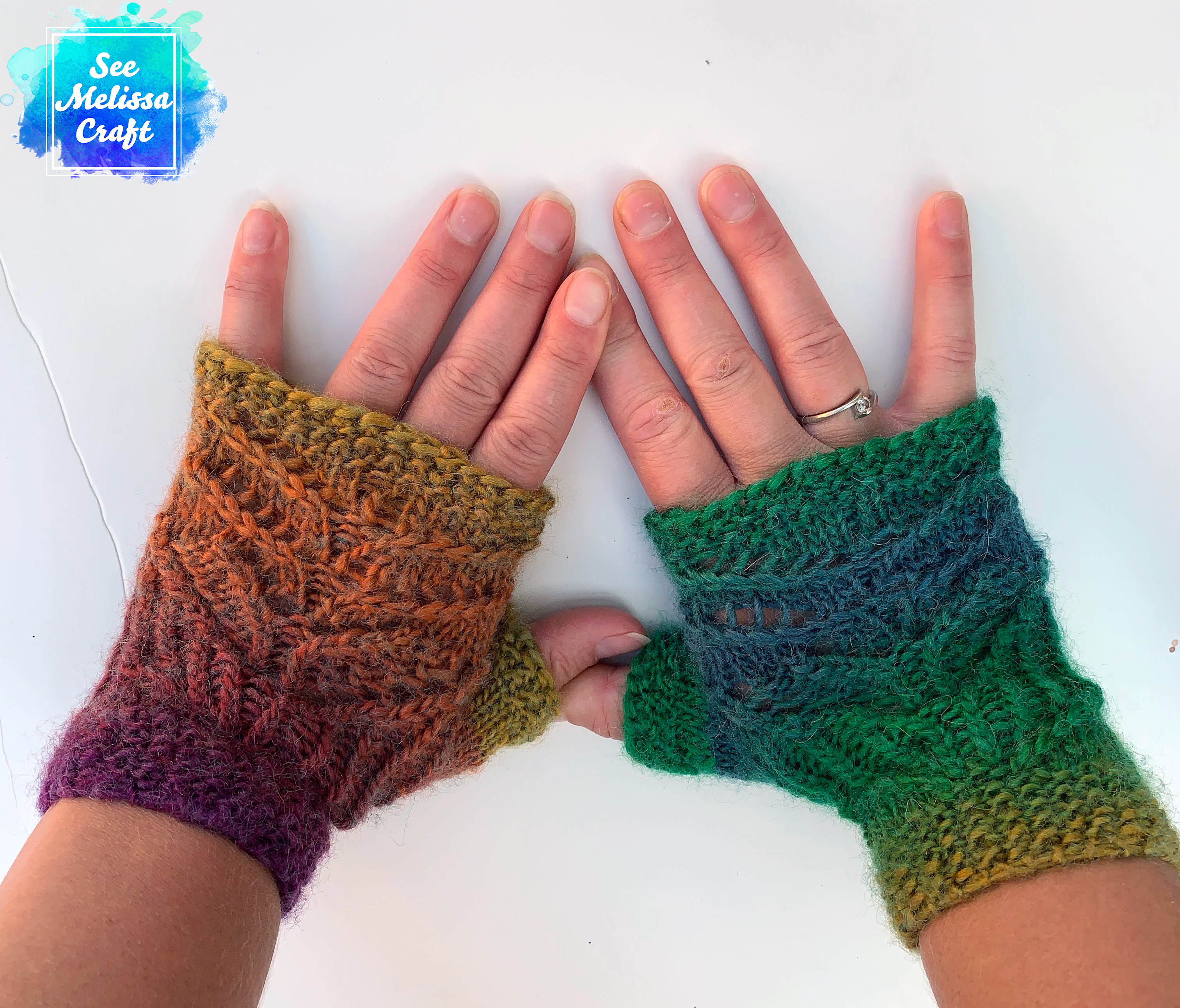 Pixie Fingerless Gloves Knit Pattern – Paid