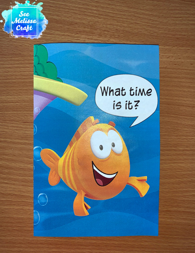 Front of Bubble Guppies birthday party invitation