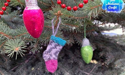 Micro Stocking Ornament Knit Pattern