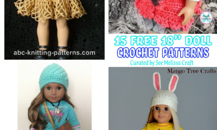 Free 18″ Doll Crochet Patterns