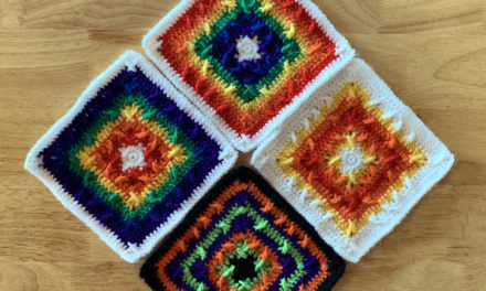 Criss Cross Applesauce Granny Square